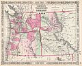 1864 Johnson Map of Washington, Oregon, and Idaho - Geographicus - OregonWashingtonIdaho-johnson-1864.jpg