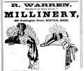 1878 Warren advert Boston Massachusetts.png