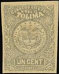 1884 1c EU de Colombia Tolima unused Mi15.jpg