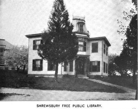 1899 Shrewsbury public library Massachusetts