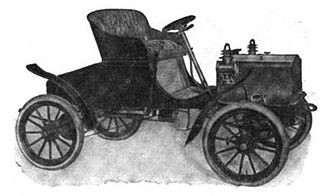Western Tool Works (automobile company) - 1906 Gale Model C