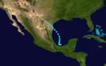 1936 Atlantic tropical storm 14 track.png