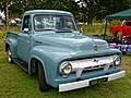 1954 Ford F100 3000cc truck at Hatfield Heath Festival 2017.jpg