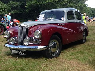 Sunbeam-Talbot 90 Motor vehicle