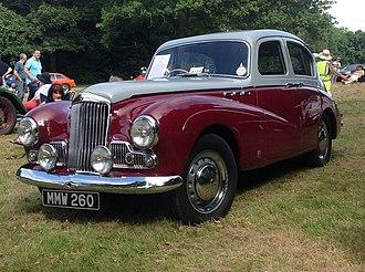 Sunbeam-Talbot 90 - Sunbeam MkIII registered July 1955