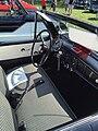 1959 Metropolitan by American Motors convertible interior at 2015 Macungie show.jpg