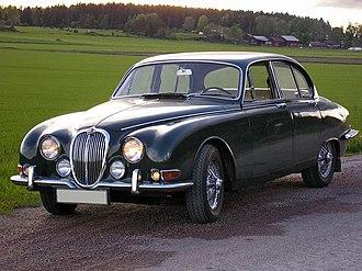 Jaguar S-Type (1963) - Image: 1966 Jaguar S type