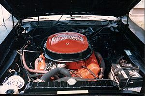 Plymouth GTX - Image: 1971 440 6pack roadrunner engine