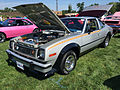 1978 AMC AMX at AMO 2015 meet in silver with Levi interior 1of3.jpg