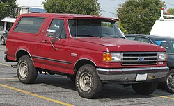 Ford Bronco (1987–1991)