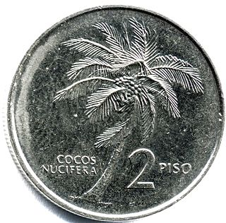 Philippine two peso coin