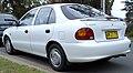 1996 Hyundai Excel (X3) GLX 5-door hatchback (2009-02-17).jpg