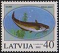 20020810 40sant Latvia Postage Stamp.jpg