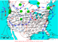 2006-01-12 Surface Weather Map NOAA.png