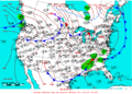 2006-05-07 Surface Weather Map NOAA.png