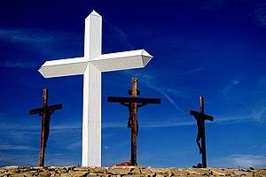 Česky: Kříže - symbol utrpení Ježíše Krista a ...