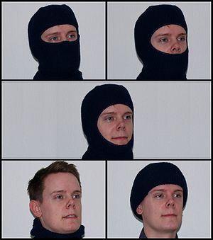 Balaclava (clothing) - Different ways of wearing a balaclava