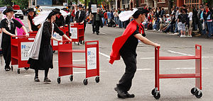 Public library advocacy - Parade, Seattle, Washington, 2007