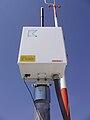 2008-07-09 Ely Airport ASOS Thunderstorm Sensor in Ely, Nevada.jpg