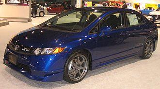 Honda Civic Si - 2008 Honda Civic Si Mugen Sedan (FA5 (US); pre-facelift)