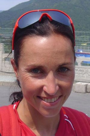 Magali Messmer - di Marco at the 2008 Summer Olympics