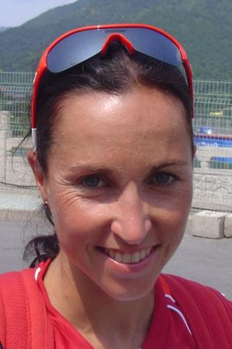 Magali Messmer - di Marco at the 2008 Summer Olympics