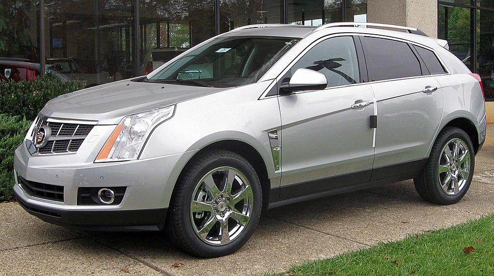 2010 Cadillac SRX -- 10-30-2009