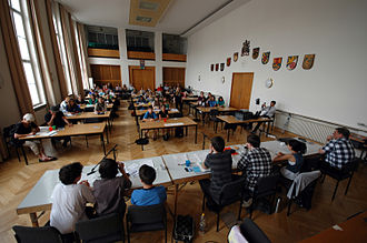 Youth council - A youth parliament in Charlottenburg-Wilmersdorf, Berlin.