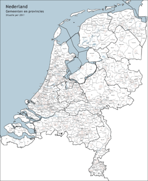 communes des Pays-Bas