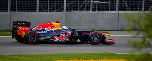 2012 Canadian Grand Prix - Sebastian Vettel qualified on pole position.