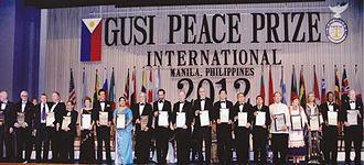 Gusi Peace Prize - 2012 GUSI PEACE PRIZE LAUREATES
