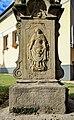 2012 Piotrowice koło Karwiny, Kalwaria z krzyżem, rzeźbami i płaskorzeźbą Świętej Weroniki (03).jpg