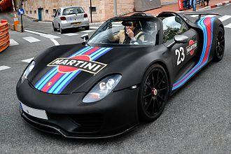 Development mule - Porsche 918 Spyder development mule in Monaco