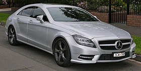 2014 Mercedes-Benz CLS 250 CDI (C 218) Avantgarde 10 Edition sedan (2015-06-27) 01.jpg