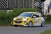 2015 Rally Bohemia - Kamenec, Opel Adam Cup.JPG