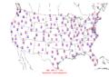 2016-04-27 Max-min Temperature Map NOAA.png
