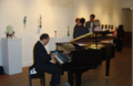 2016-06-26 1728 Glass art by Jude Schlotzhauer and guest pianist at art6.png