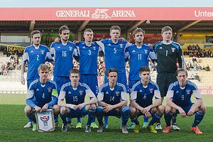 Faroe Islands national under-21 football team - Image: 20160329 U21 AUTFRO 0152