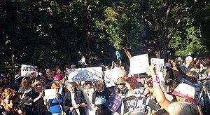 Alberto Nisman - Demonstration asking Justice for Nisman in 2016