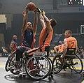 2016 Invictus Games, US Wheelchair Basketball Team plays the Netherlands 160512-D-BB251-001.jpg
