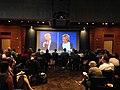 2016 presidential debate at WikiConference North America 2016.jpg