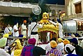 2017 prakash ritual palki palanquin for Guru Granth Sahib every dawn, Golden temple Amritsar.jpg