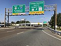 2018-10-01 11 25 07 View west along U.S. Route 30 (Admiral Wilson Boulevard) at the exit for Camden Business District-Rutgers University in Camden, Camden County, New Jersey.jpg
