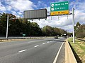 2018-10-29 13 25 18 View north along Virginia State Route 286 (Fairfax County Parkway) at the exit for Virginia State Route 608-West Ox Road and U.S. Route 29-Lee Highway in Vannoy Acres, Fairfax County, Virginia.jpg