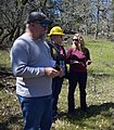 2018. Bruce Moltzan, Blakey Lockman, and Kristen Chadwick. Forest Health tour. Catherine Creek Thinning Project. Columbia River Gorge National Scenic Area, Washington. (40758738425).jpg