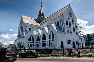 St. Georges Cathedral, Georgetown Church in Georgetown, Guyana