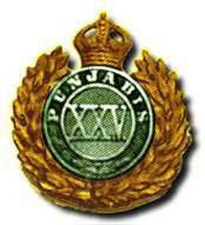 25th Punjabis - Image: 25 Punjabis badge