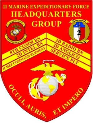 Command element (United States Marine Corps) - Image: 2HQGRP