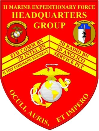 Command element (United States Marine Corps) - Image: 2HQGRP