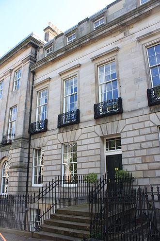 James Craufurd, Lord Ardmillan - Crauford's home at 2 Doune Terrace, Edinburgh